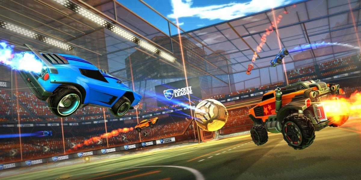 Rocket League and Mario Kart expect like a bout fabricated in heaven