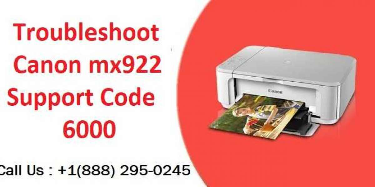 Quick Resolution of Canon MX922 Support Code 6000