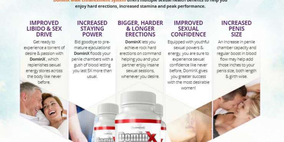 DominX Male Enhancement Reviews – Male Formula To Boost Sexual Libido! Price