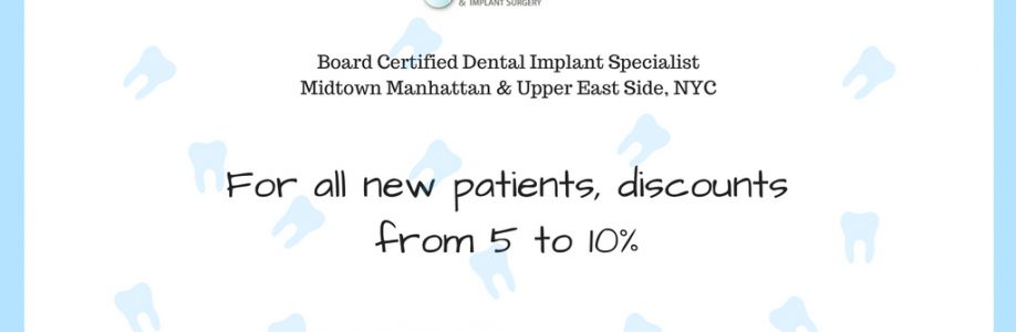Discount for NEW Patients from NYC Dental Implants Center Cover Image