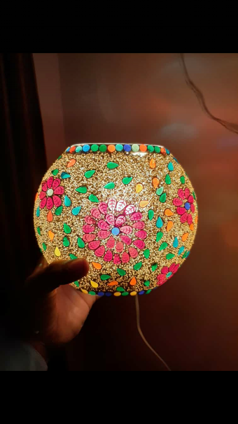 Homemade Purush Table Lamp | Order Online – Zupppy