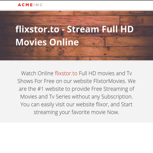 flixstor.to - Stream Full HD Movies Online
