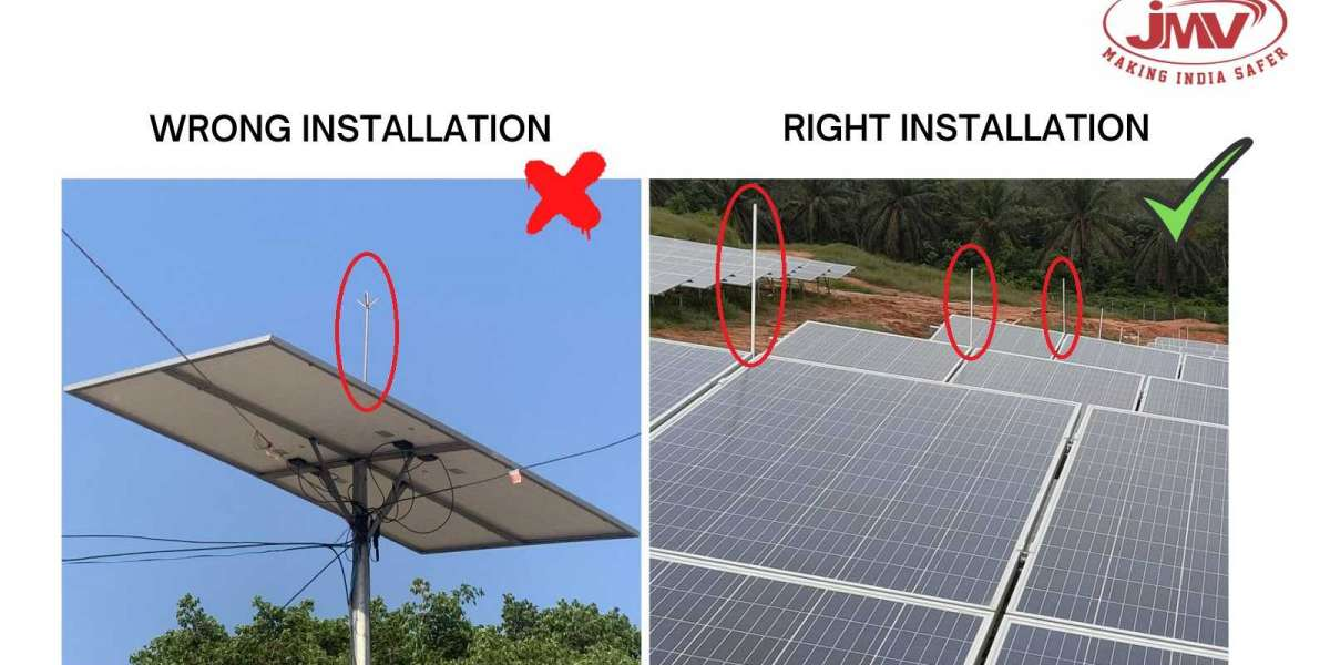 Effective Lightning Protection for Residential Rooftop Solar System