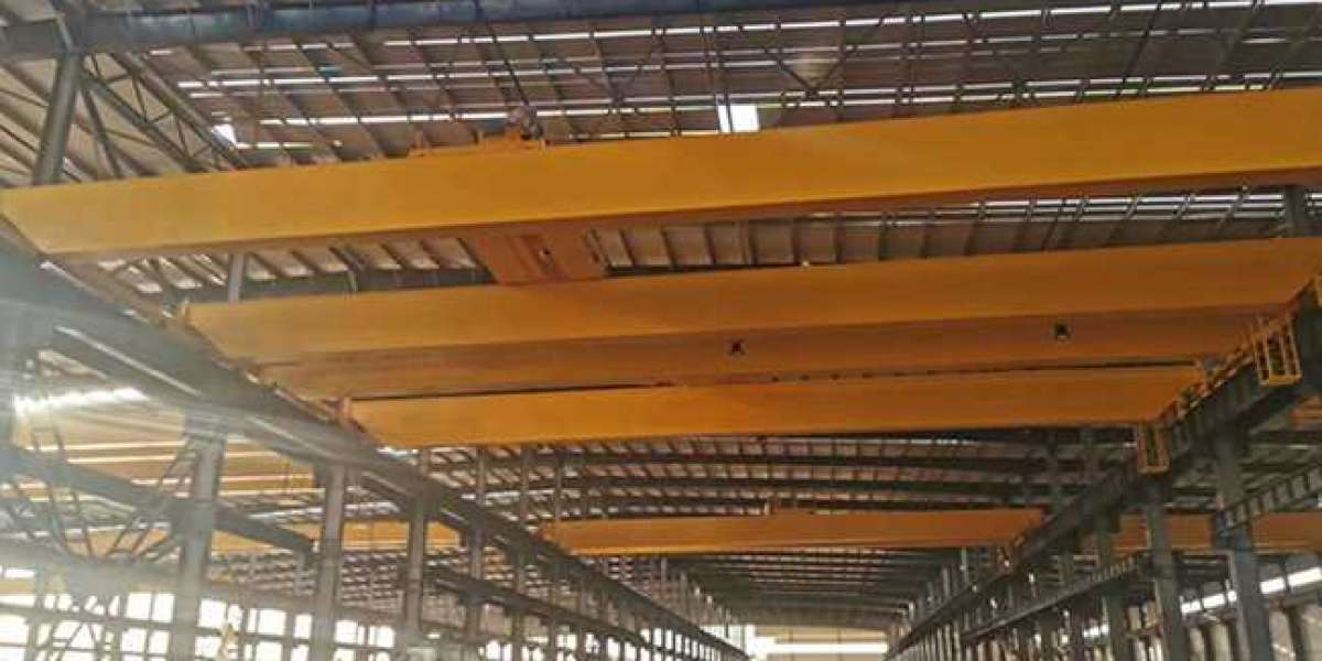 50 Ton Overhead Cranes For Heavy Duty Material Lifting